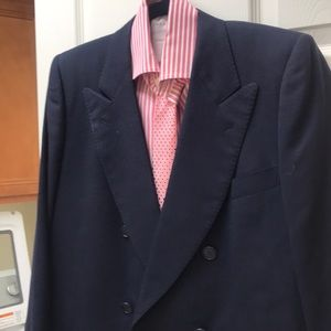 Navy Blue Italian suit size 42 R